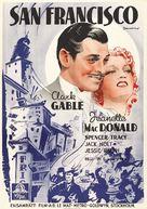 San Francisco - Swedish Movie Poster (xs thumbnail)