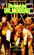 The Island of Dr. Moreau - German VHS cover (xs thumbnail)