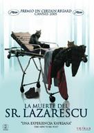 Moartea domnului Lazarescu - Spanish DVD cover (xs thumbnail)