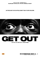 Get Out - New Zealand Movie Poster (xs thumbnail)