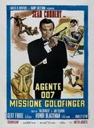 Goldfinger - Italian Movie Poster (xs thumbnail)