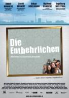 Die Entbehrlichen - German Movie Poster (xs thumbnail)