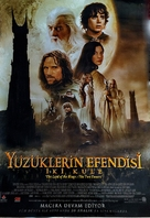 The Lord of the Rings: The Two Towers - Turkish Movie Poster (xs thumbnail)