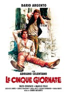 Le cinque giornate - Italian Movie Poster (xs thumbnail)