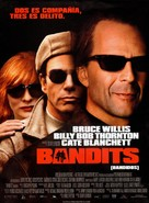 Bandits - Spanish Movie Poster (xs thumbnail)