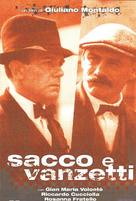 Sacco e Vanzetti - Italian Movie Cover (xs thumbnail)