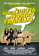 Our Idiot Brother - Italian Movie Poster (xs thumbnail)