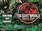 The Lost World: Jurassic Park - British Movie Poster (xs thumbnail)