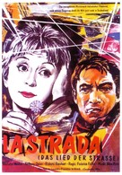 La strada - German Movie Poster (xs thumbnail)