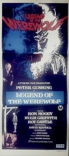 Legend of the Werewolf - Australian Movie Poster (xs thumbnail)