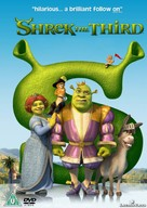 Shrek the Third - British DVD cover (xs thumbnail)