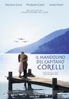 Captain Corelli's Mandolin - Italian Theatrical movie poster (xs thumbnail)