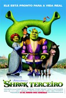 Shrek the Third - Brazilian Movie Poster (xs thumbnail)