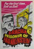 Drácula contra Frankenstein - Australian Movie Poster (xs thumbnail)