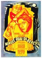 Minuit... Quai de Bercy - French Movie Poster (xs thumbnail)
