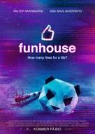 Funhouse - Swedish Movie Poster (xs thumbnail)