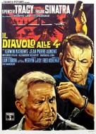 The Devil at 4 O'Clock - Italian Movie Poster (xs thumbnail)
