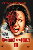 Faces Of Death 2 - German DVD cover (xs thumbnail)