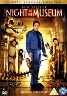 Night at the Museum - British Movie Cover (xs thumbnail)