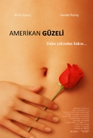 American Beauty - Turkish Theatrical movie poster (xs thumbnail)