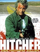 The Hitcher - German Movie Poster (xs thumbnail)