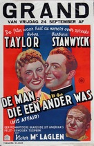 This Is My Affair - Dutch Movie Poster (xs thumbnail)