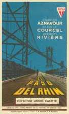 Passage du Rhin, Le - Spanish Movie Poster (xs thumbnail)