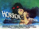 Horror Express - British Movie Poster (xs thumbnail)