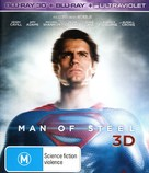 Man of Steel - Australian Blu-Ray cover (xs thumbnail)