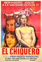 Porcile - Argentinian Movie Poster (xs thumbnail)