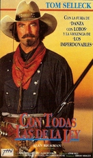 Quigley Down Under - Argentinian VHS cover (xs thumbnail)