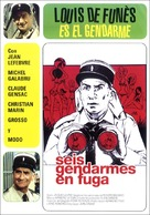 Le gendarme en balade - Spanish Movie Cover (xs thumbnail)