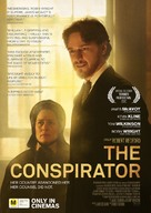 The Conspirator - New Zealand Movie Poster (xs thumbnail)