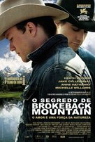 Brokeback Mountain - Brazilian Movie Poster (xs thumbnail)