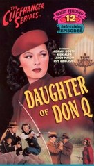 Daughter of Don Q - VHS cover (xs thumbnail)