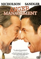 Anger Management - Finnish DVD movie cover (xs thumbnail)
