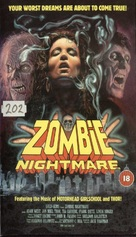 Zombie Nightmare - British VHS cover (xs thumbnail)