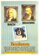 Beethoven - Italian Movie Poster (xs thumbnail)