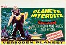 Forbidden Planet - Belgian Movie Poster (xs thumbnail)