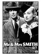 Mr. & Mrs. Smith - British VHS movie cover (xs thumbnail)