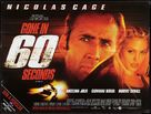 Gone In 60 Seconds - British Movie Poster (xs thumbnail)