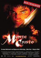 The Count of Monte Cristo - German Movie Poster (xs thumbnail)