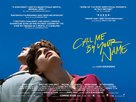 Call Me by Your Name - British Theatrical poster (xs thumbnail)