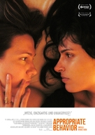 Appropriate Behavior - German Movie Poster (xs thumbnail)