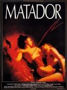 Matador - French Movie Poster (xs thumbnail)