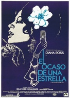 Lady Sings the Blues - Spanish Movie Poster (xs thumbnail)