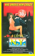 I Love N.Y. - Norwegian VHS cover (xs thumbnail)