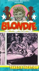 Blondie Takes a Vacation - VHS cover (xs thumbnail)
