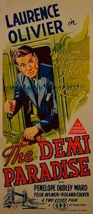 The Demi-Paradise - Australian Movie Poster (xs thumbnail)