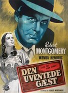 Ride the Pink Horse - Danish Movie Poster (xs thumbnail)